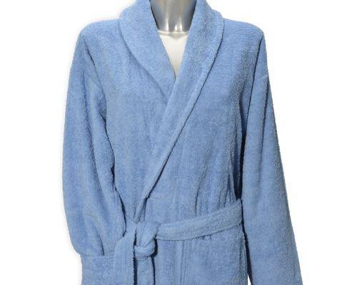 Clarysse Classic badjas met sjaalkraag Gauloise-L/XL