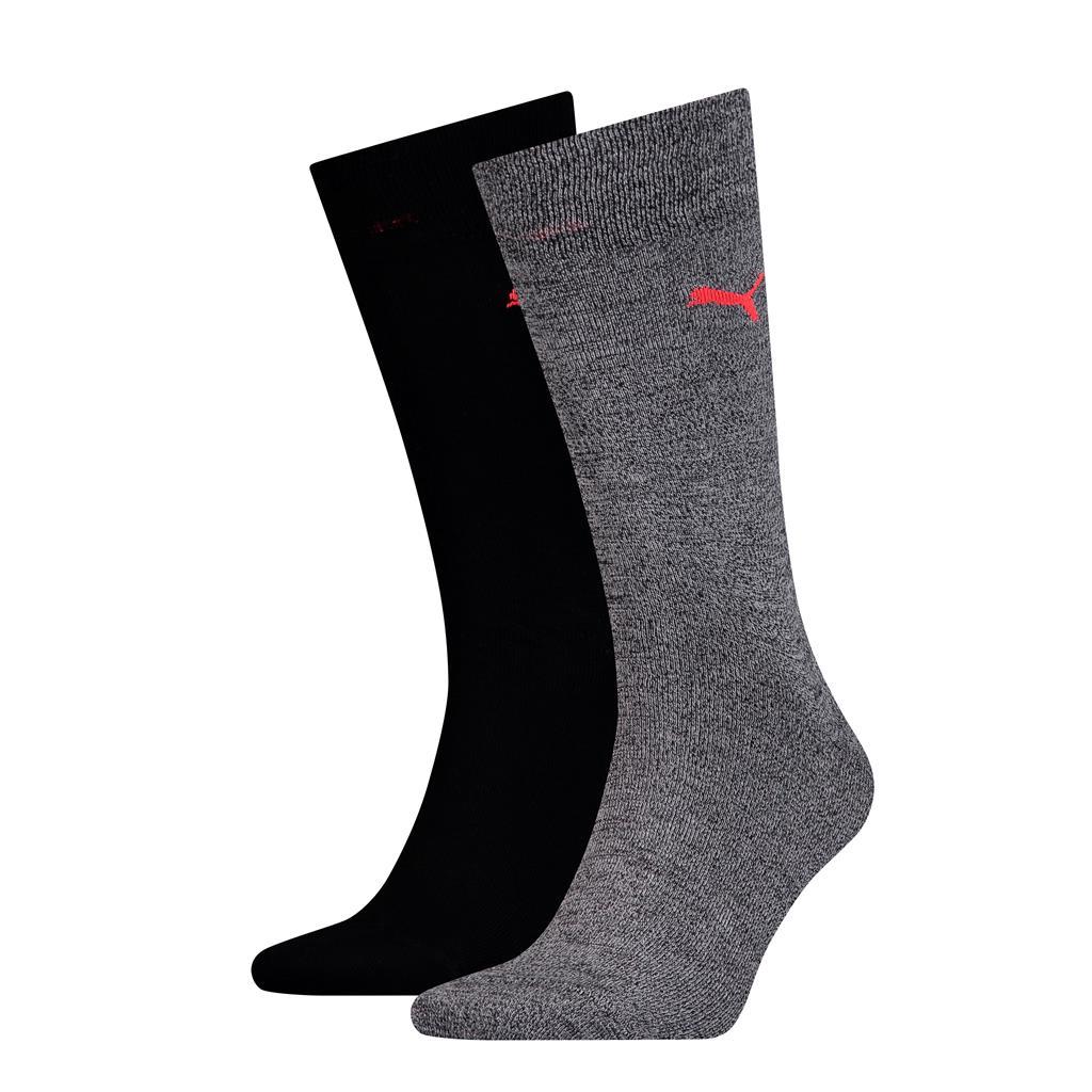 Puma sokken classic Black - White 2-pack-39/42