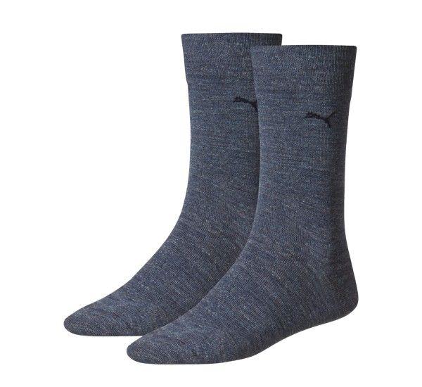 Puma 2-pack Classic Sock Men Denim Blue