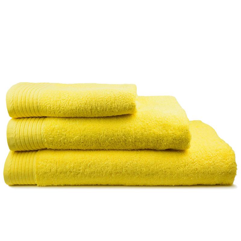 The One Handdoek 450 gram 50x100 cm Geel