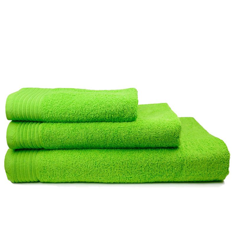 The One Handdoek 450 gram 50x100 cm Lime