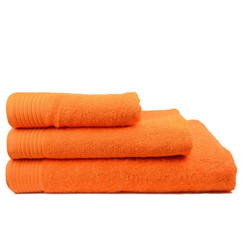 The One Handdoek 450 gram 50x100 cm Oranje