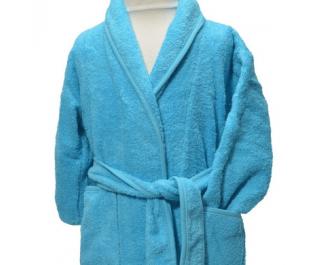 Clarysse Kimono Kinderbadjas zonder capuchon Aqua