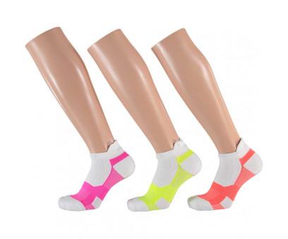 Apollo Dames Multi White Fitness sokken 3-pack