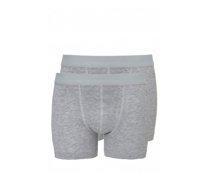 Ten Cate 2-Pack Boys Basic Short Grijs