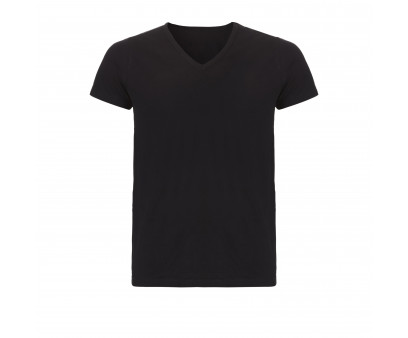 Ten Cate Men Basic V-Neck Black 2-pack