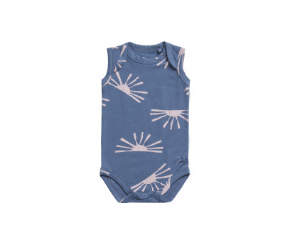 Ten Cate Boy/Girl romper 0-2Y Sunrise Grey Indigo