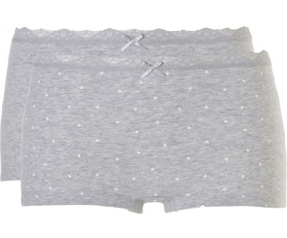 Ten Cate Happy Summer Shorts 2-pack Grey