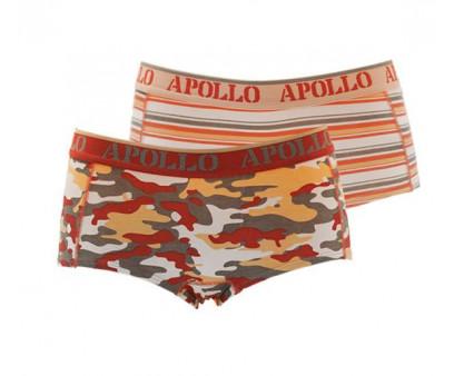 Apollo Dames hipster Camo Oranje
