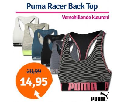 Dagaanbieding Puma Dames Racer Back Top