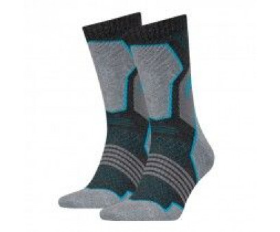 HEAD Hiking Crew sokken 2-pack Unisex Grey/blue