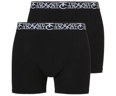 Ten Cate Heren Boxershorts 2-Pack Black/Black