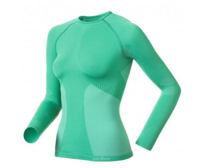 Odlo Thermo Shirt Sports Underwear Evolution Warm Women Green
