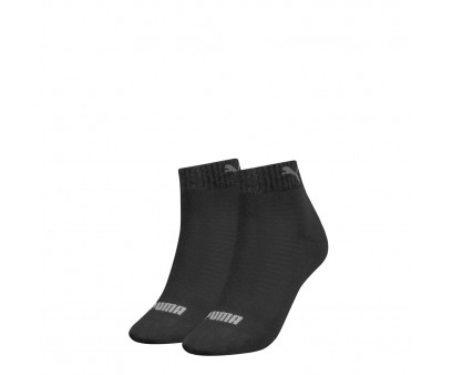 Puma Women Quarter Black 2-pack