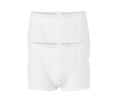 Sloggi Men Basic Short 2-Pack Wit