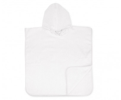 The One Baby Handdoek met capuchon 450 gram Wit