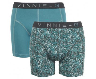 Vinnie-G boxershorts Leaves Print-Light 2-pack
