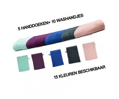 Voordeelpakket The One Handdoeken en Washandjes