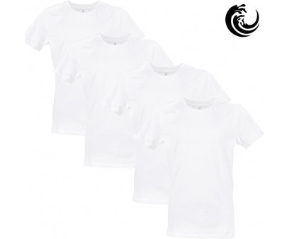 Vinnie-G t-shirt wit 4-pack