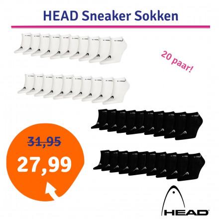 Dagaanbieding Head Sneaker sokken 20-pack