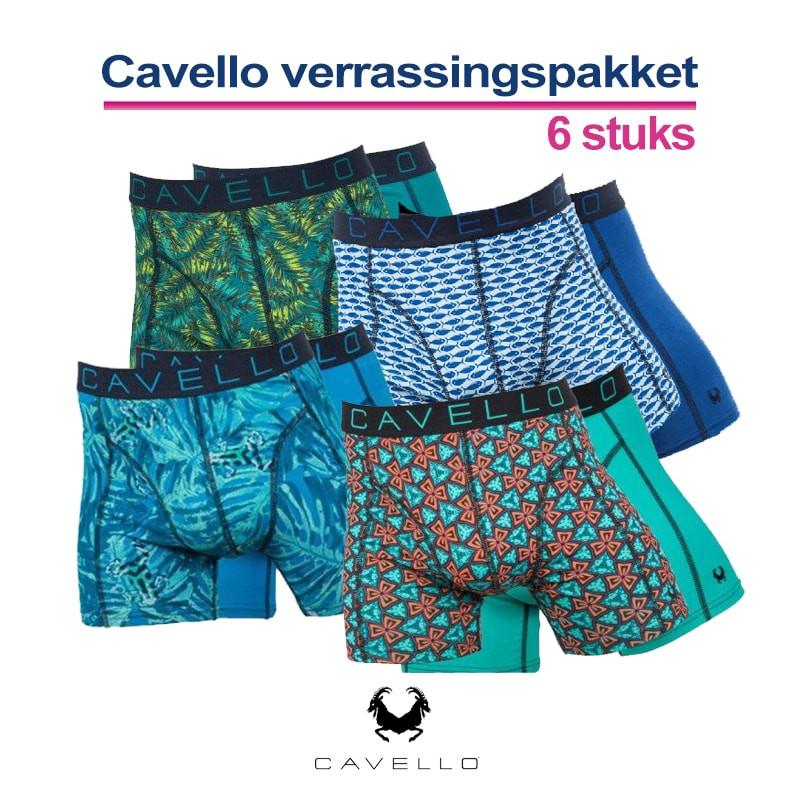 Dagaanbieding - Cavello Verrassingspakket 6-Pack Boxershorts dagelijkse aanbiedingen