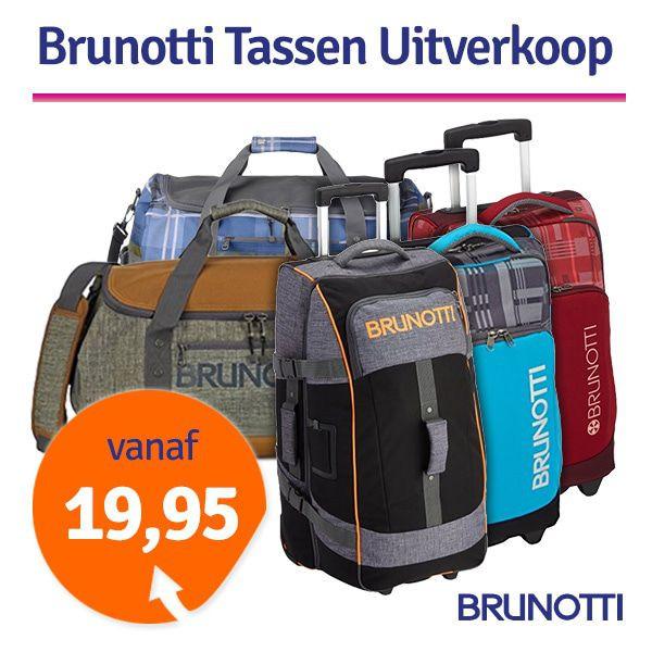 Dagaanbieding - Dagaanbieding Brunotti sporttassen en trolleys dagelijkse koopjes