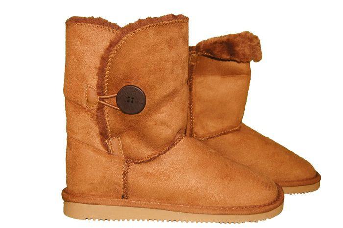 Dagaanbieding - Button Boots dagelijkse aanbiedingen