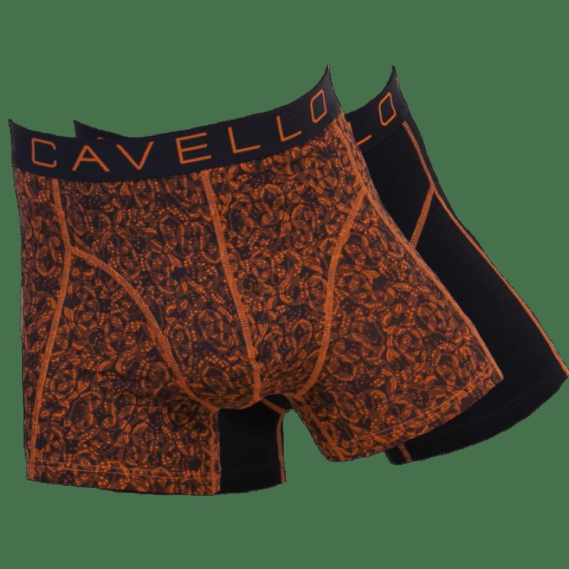 Dagaanbieding - Dagaanbieding Cavello boxershorts Oranje 4-pack dagelijkse aanbiedingen