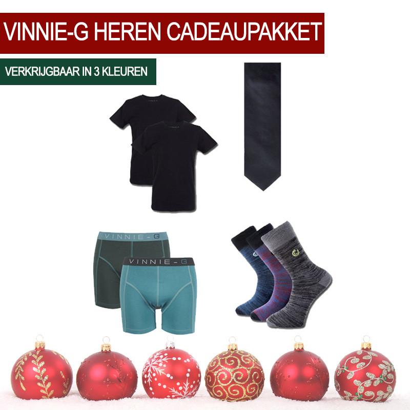 Dagaanbieding - Dagaanbieding Vinnie-G heren cadeaupakket dagelijkse aanbiedingen