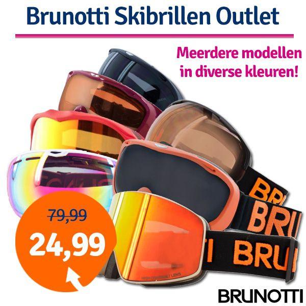 Dagaanbieding - Dagaanbieding Brunotti Skibrillen outlet dagelijkse koopjes