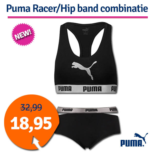 Dagaanbieding - Dagaanbieding Puma Racer/Hip Band combinatie dagelijkse aanbiedingen