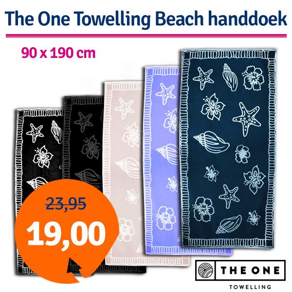 Dagaanbieding - Dagaanbieding The One Towelling Beach Handdoek dagelijkse aanbiedingen