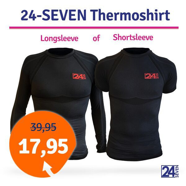 Dagaanbieding thermoshirts