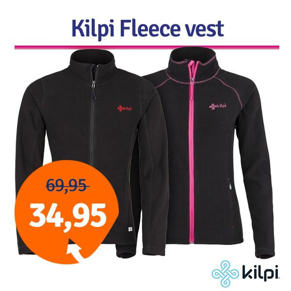 Dagaanbieding - Dagaanbieding Kilpi Fleece vest dagelijkse aanbiedingen