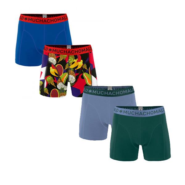 Korting Muchachomalo Boxershorts Verrassingspakket 4 pack