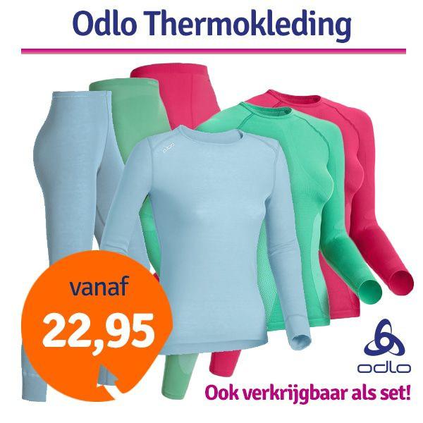 Dagaanbieding - Dagaanbieding Odlo Thermokleding dames dagelijkse aanbiedingen
