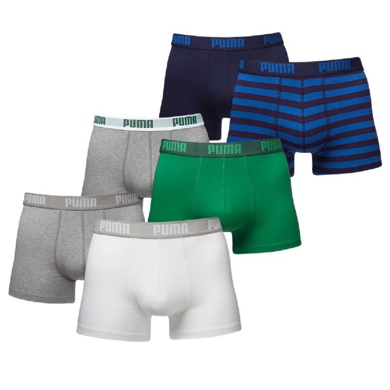 Dagaanbieding - Puma Boxershorts Verrassingspakket Combi/Stripe 6-pack dagelijkse aanbiedingen