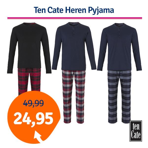 Dagaanbieding - Dagaanbieding Ten Cate Heren Pyjama dagelijkse koopjes