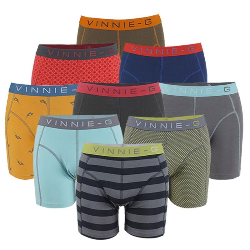 Dagaanbieding - Vinnie-G Boxershort Verrassingspakket 8-pack dagelijkse koopjes