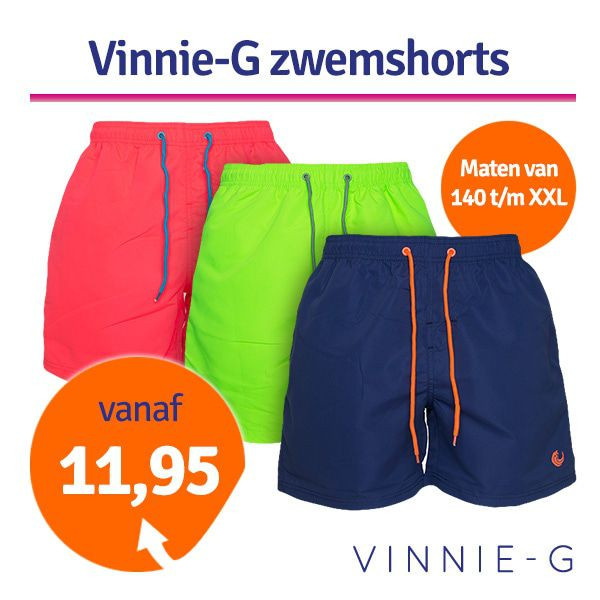 Dagaanbieding - Dagaanbieding Vinnie-G zwemshorts dagelijkse koopjes
