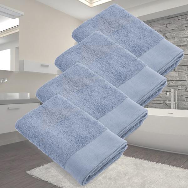 Dagaanbieding - Dagaanbieding Walra Soft Cotton Douchelaken 70x140 550gram - 4 stuks dagelijkse aanbiedingen