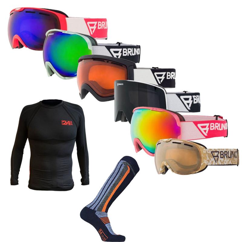 Dagaanbieding - Winterpakket: Skibril, Thermoshirt en Skisokken dagelijkse aanbiedingen