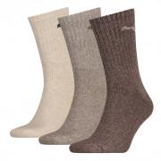 Puma sokken hoog safari-wit-zand 3-pack