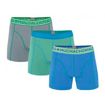 Muchachomalo 3-Pack Men Shorts Solid