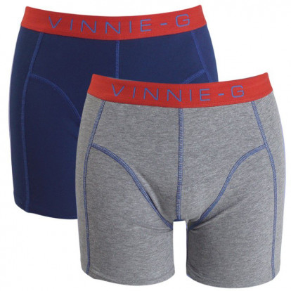 Dagaanbieding Vinnie-G boxershorts Flame Blue 6-pack