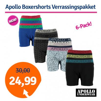 Apollo Boxershorts Verrassingspakket 6-pack