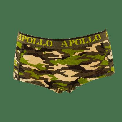 Apollo Dames hipster Camo Groen