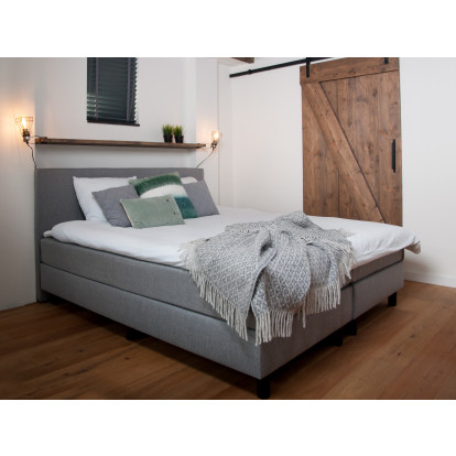 Boxspring Berlijn - Chicago Grey