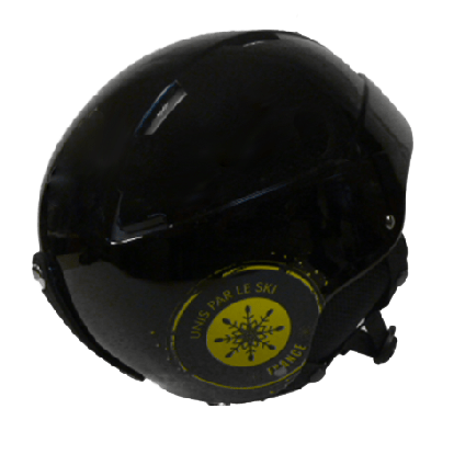 Ski Republic skihelm zwart/geel