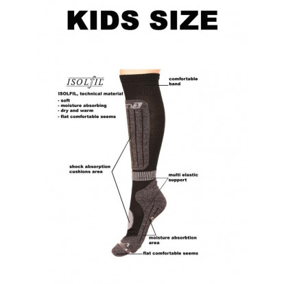 Deluni skisokken | Kinder skisokken | Dagaanbieding